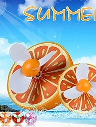 New Arrival Mini USB Lovely Fruit Shape Rechargeable Fan (Random Colors)