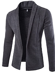 Men's Casual Long Sleeve Knitwear Cardigan