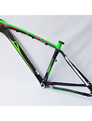 "Neasty Brand MB-NT02 Full Carbon Fiber MTB Frame Bright Green White Decal 26er Frame 15""/17"""