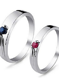 Volcanic Act The Role Ofing Is Tasted Natural Ruby Ring  925 Silver SR0220R Couples Ring