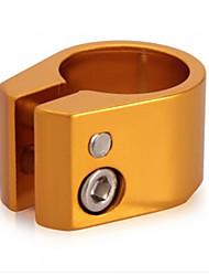Vélo Tige de selle serrage inner diameter: about 28.6mm Cyclisme/Vélo Ajustable Alliage-gold/black seatpost