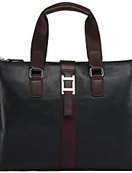 x.bnj de alta calidad de la vendimia maletines de cuero genuino bolso de los hombres de negocios bolsas de hombro mensajero originales