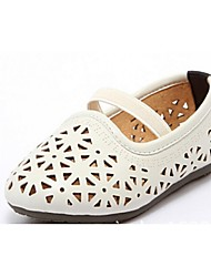 Girls' Shoes Casual Round Toe Flats Green/White/Khaki