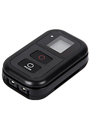 "GoPro 0.8"" Wi-Fi Remote with Silicone Case, Strap,Charging Cable, Key Ring for Gopro Hero 4/3+/3/2"