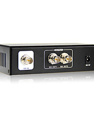 2 Port SD-SDI, HD-SDI, 3G-SDI Splitter Distributor Support 1080P, 3D, Cascade, 100M SDI Signal Split Out