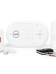 HORN® D1 Ultra-thin Design Wireless GSM Home Alarm System with Android and IOS APP