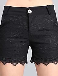 Damen Hose  -  Sexy Kurze Hose Andere Unelastisch