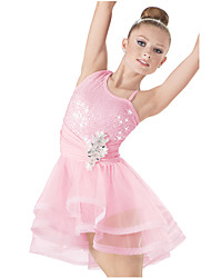 Adults' Children Dance Dancewear Front Short Back long Adults' Children Girls Ballet Dance Dresses
