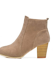 Women's Shoes New Chunky Heel Comfort Round Toe Ankle Boots