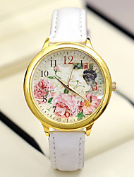 Fashion Women's Watches Rose Flowers Analog Quartz Watches  (Assorted Colors) Cool Watches Unique Watches