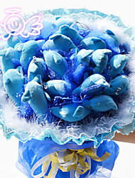 Dolphin Flower Bouquet Birthday Gift Valentine's Day Gift Wedding Bouquet