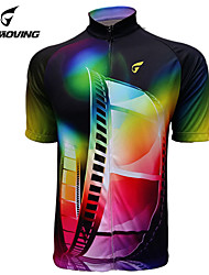 Getmoving® Cycling Jersey Women's / Men's / Unisex Short Sleeve BikeBreathable / Quick Dry / Anatomic Design / Ultraviolet Resistant /