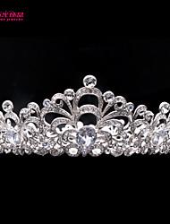Neoglory Bridal Wedding Tiara Crown Hair Accessory for Lady Pageant with Austrian Rhinestone