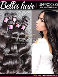 mejores extensiones del pelo 3pcs / lot extensiones remy del pelo humano de la onda del cuerpo malasio ofertas haz de pelo virgen
