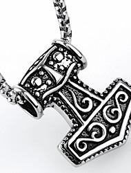 acero flechas shape titanio europeo al por mayor colgante caliente de ventas para hombre (plata) (1pc)