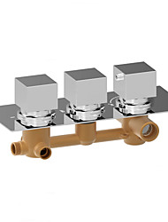 Luxury High Flow Concealed Valve Thermostatic 3 Way Vertical Install