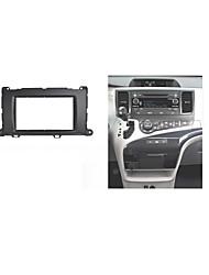 carro fascia rádio para Toyota Sienna 2010+ tablier estéreo auto-rádio instalar ajuste kit traço dvd cd guarnição