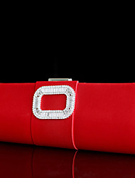 Handbag Satin Evening Handbags With Crystal/ Rhinestone