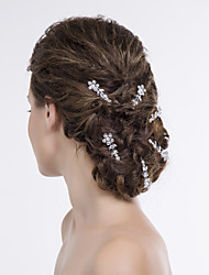 Flowers Women Alloy Hair Pin With Rhinestone Wedding/Party Headpiece