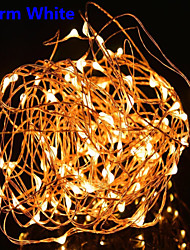 Dc12v 33FT 100 Leds Fairy String Lights Christmas Wedding Party Xmas Decoration and Power