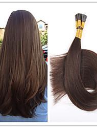 3pcs / lot / s 100g / pc 100% extension de cheveux de 1g vierge fusion capsule cheveux bâton cheveux pré-kératine / i lève en stock