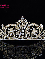 Neoglory Jewelry Austrian Rhinestone Flower Tiara Crown Accessories for Lady Pageant/Wedding(More Color)