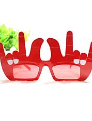 pc punny gehoornde kant rock stijl geek&chique party bril