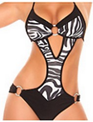 Maillot de Bain ( Polyester ) Push-up / Sexy / Loisir