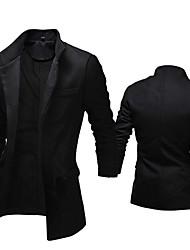 jumbo Men's Casual Long Sleeve Coats & Jackets (Others)