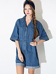Women's American Apparel Cowboy Loose Fashion Jumpsuits