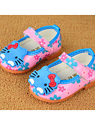 Baby Shoes Outdoor/Dress Faux Flats Black/Pink/Red