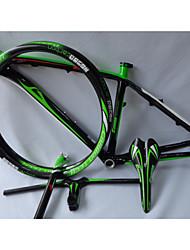 "NEASTY BTT Carbono total Bicicleta Marco 26"" Brillante 3K 15""/17"" cm 15/17 pulgada"