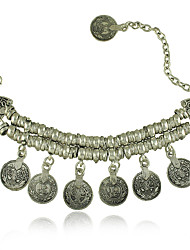 New Vintage Coin Charm anklet bracelet for Woman