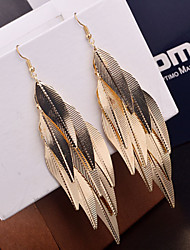 Leaf Drop Earrings for wedding Party