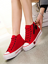 Scarpe Donna Di corda Piatto Chiusa Sneakers alla moda Casual/Sportivo Blu/Rosso/Bianco