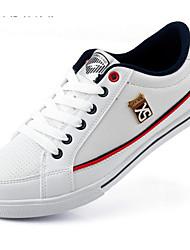 Scarpe da uomo Tempo libero Sintetico Sneakers alla moda Nero/Blu/Bianco