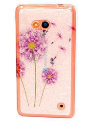 Color dandelion Pattern TPU Soft Case for Nokia Microsoft Lumia 640