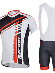 Cycling Bike Short Sleeve Clothing Set Bicycle Men Wear Suit Jersey Bib Shorts