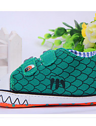 Baby Shoes Casual Fabric Fashion Sneakers Green