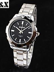 Men's Fashion Water-Proof Classic Quartz  Steel Belt Watch