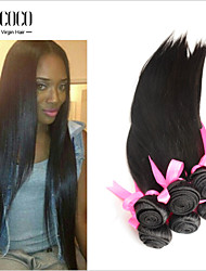 "8""-30"" Hot New Products For 2015 100% Unprocessed Natural Color Indian Virgin Hair Extension"