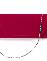 Anladia SUEDE VELVET LADIES PARTY PROM EVENING CLUTCH HAND BAG PURSE
