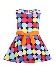 Kid's Vintage/Print/Cute Dress (Cotton)