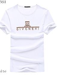 de 2015 zomer mannen korte mouwen t-shirt van mannen t-shirt t-shirt mannen t-shirt slim overhemd getij