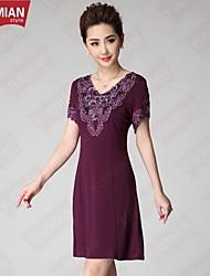 YUEMIAN™Women's Handmade Embroidered Beads Loose Dress Code