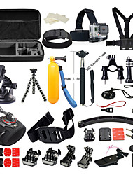 Gopro Accessory kit Bundle Kit for Gopro Hero 4 Gopro 3+ 3 2 1 for Outdoor Sports