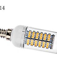 5W E14 / G9 / E26/E27 LED лампы типа Корн T 138 SMD 3528 440 lm Тёплый белый / Холодный белый AC 220-240 V