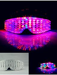 Cool Light-Up men Glasses LED Flashing Blinking Eye Glasse Party