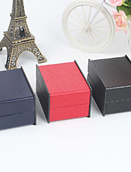 Leather Surface Jewelry Boxes for Watch 1pc