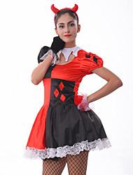 Costumes - Déguisements burlesques/Ange et Diable - Féminin - Halloween/Carnaval/Fête d'Octobre - Jupe/Gants/Coiffure